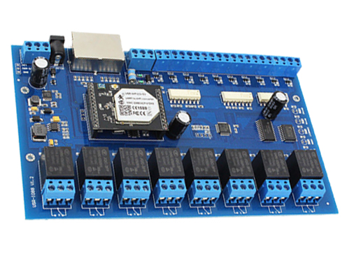 8 Channel Wireless Relay Control Board Manufacturing