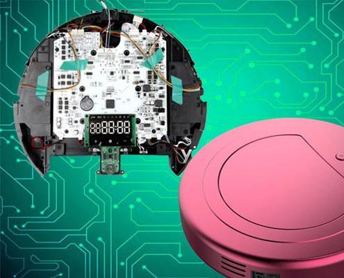 sweeping robot project development